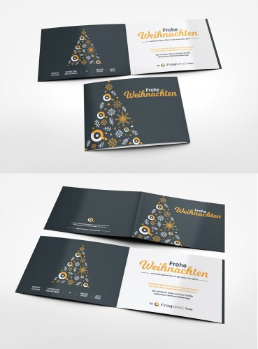 Weihnachtskarte für Personalvermittler im technischen Bereich! als jährliche Danksagung