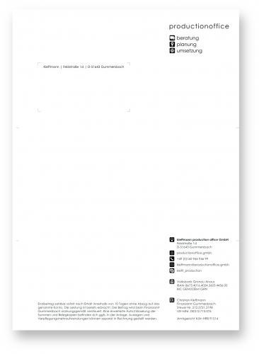 Re-Design von Briefpapier