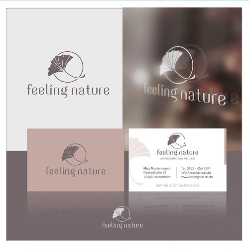 Logo-Design für Naturkosmetik und Wellness