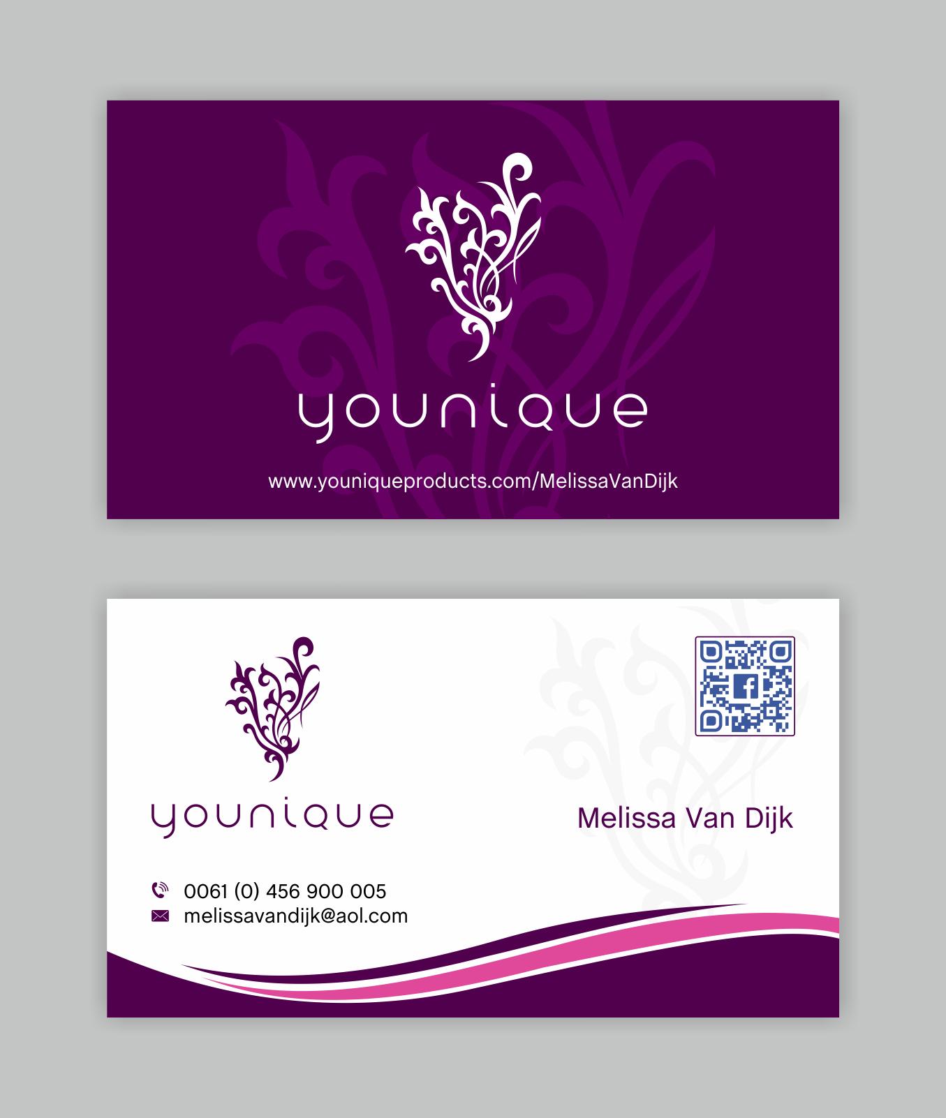 Visitenkarten Design Für Make Up Vertrieb Business Card