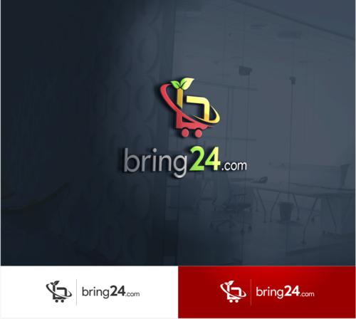 Logo-Design für E-Commerce Lebensmittel- und Großmarkt