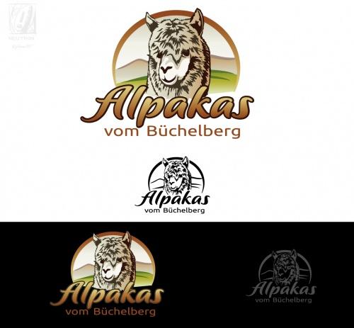 Logo-Design für Alpakazucht