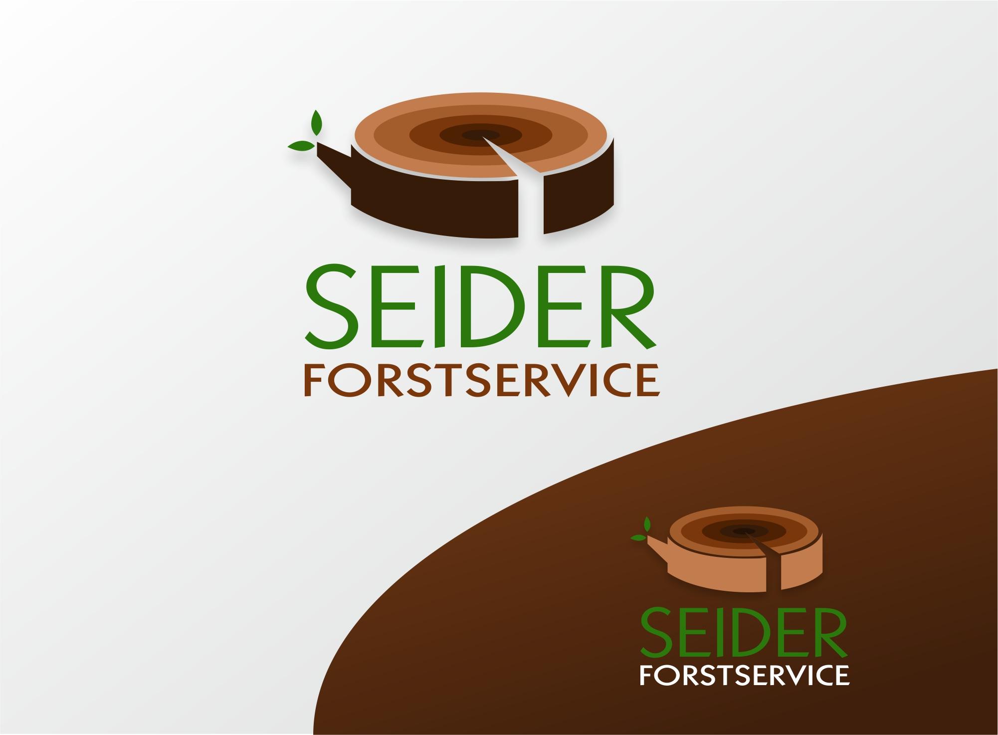 Corporate Design für Dienstleistungen in der Forstwirtschaft