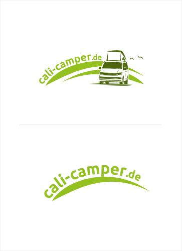 Logo-Design für Vermietung und Verkauf von Campingbussen