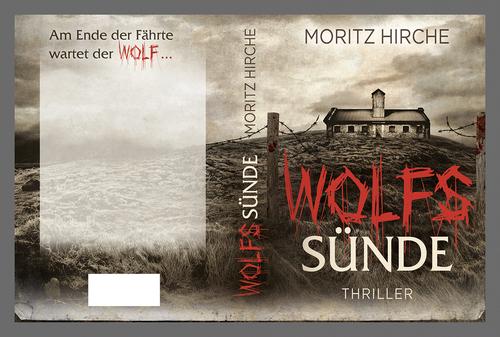 Buch-Cover für zweiten Teil einer Thriller-Reihe