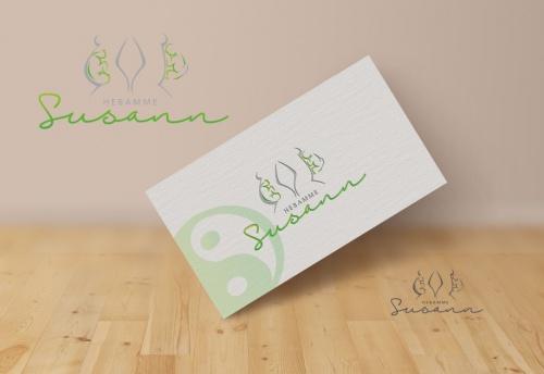 Logo & Visitenkarte für eine Hebamme