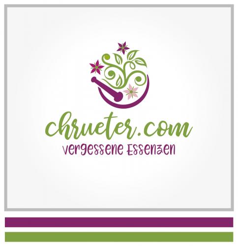 Logo-Design für Salben und Tinkturen mit Wildkräutern