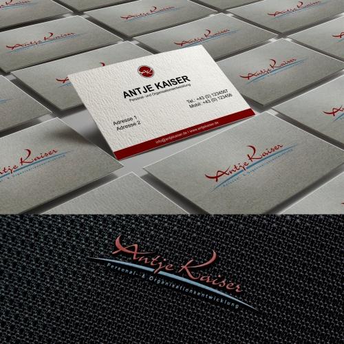 Logo & Visitenkarte für Personal- & Organisationsentwicklung