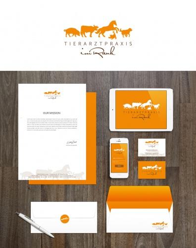 Corporate Design für eine Tierarztpraxis - Anschlussaufträge wahrscheinlich!