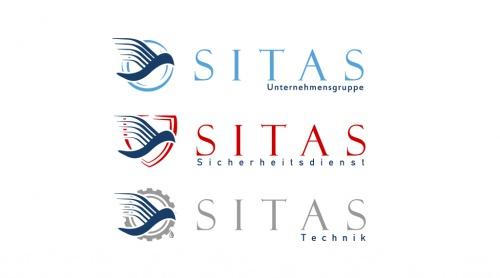 Zwei Logos auf Basis eines bereits vorhandenen Hauptlogos