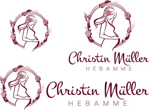 Logo-Design für Hebamme