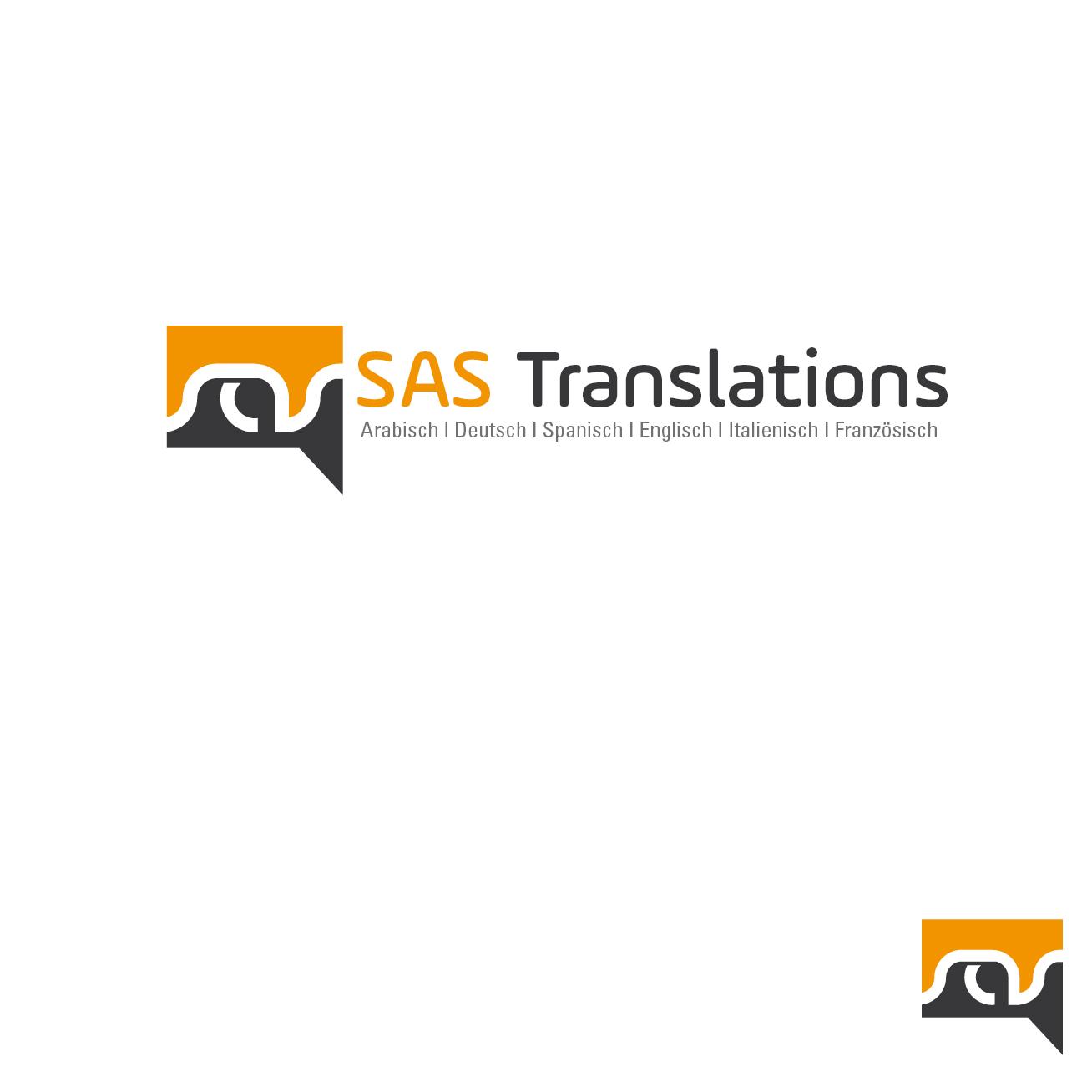 Logo Visitenkarte Für übersetzungsbüro Logo