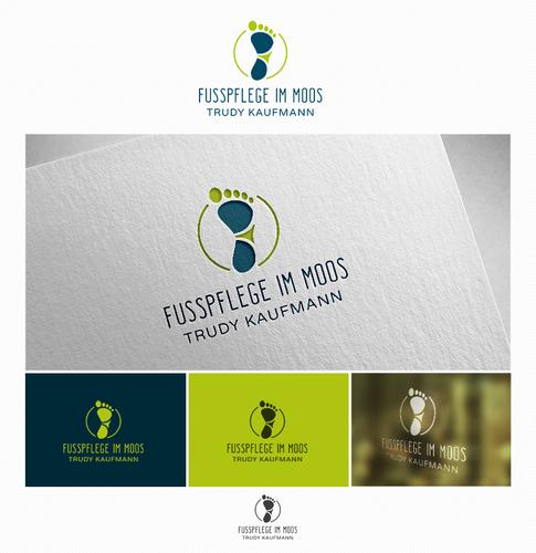 Logo-Design für Fusspflege