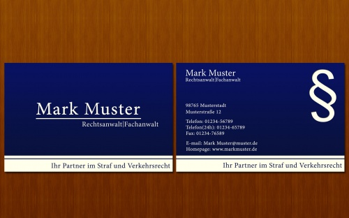 Visitenkarten Designen Business Card Design