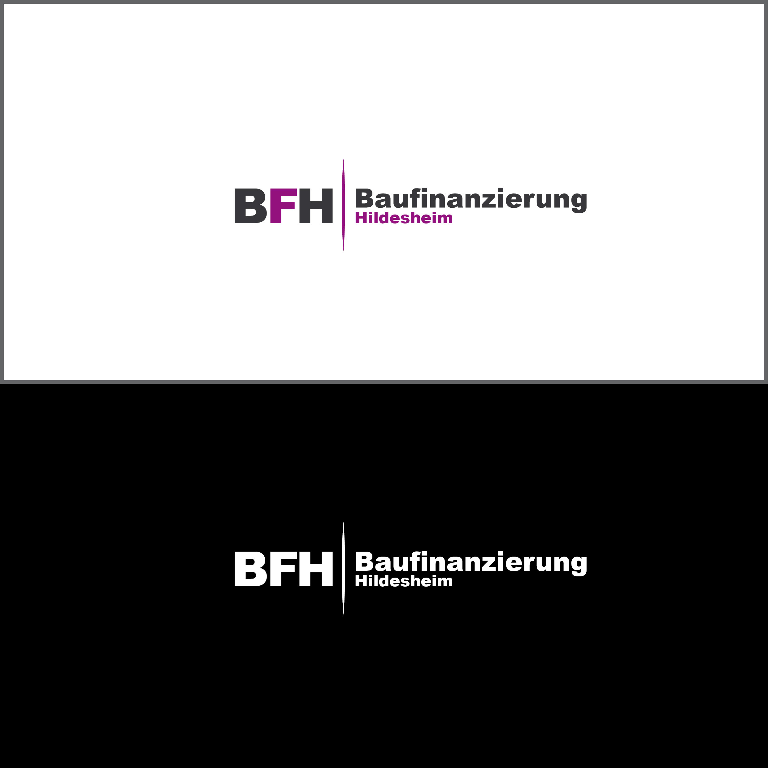 Logo-Design für Baufinanzierung