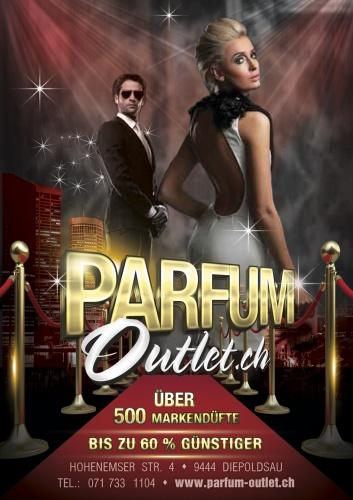 ce279d70852935 Flyer für parfum-outlet.ch » Flyer-Design » designenlassen.de