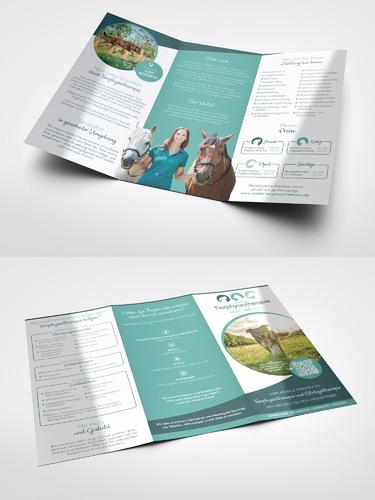 Mobile Praxis für Tierphysiotherapie und Blutegeltherapie sucht Flyer-Design