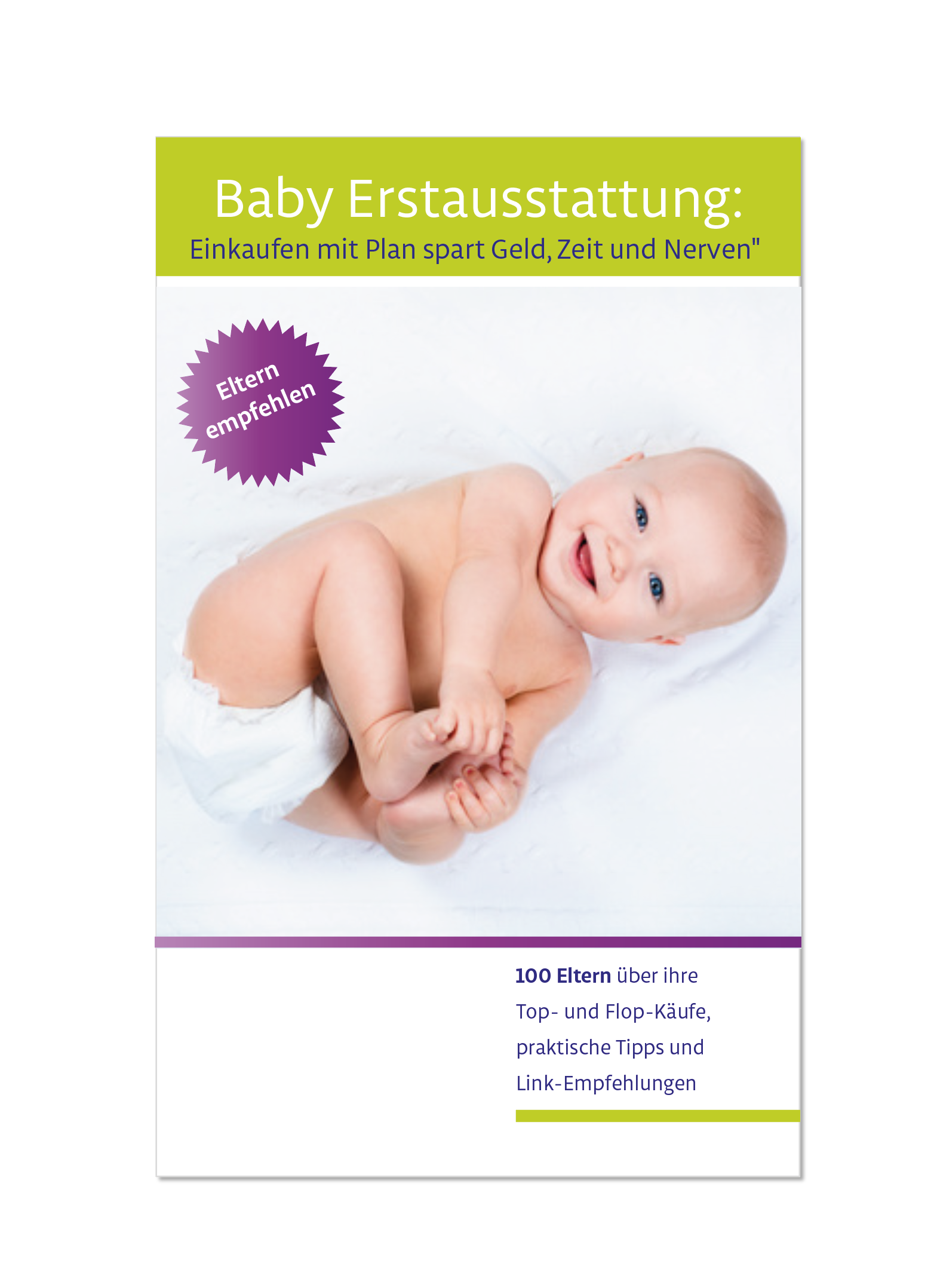 e book cover f r ratgeber baby erstausstattung buch e book cover. Black Bedroom Furniture Sets. Home Design Ideas