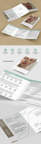 Flyer-Design für plastische Chirurgin