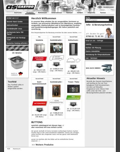 As Gastro redesign as gastro webdesign designenlassen at