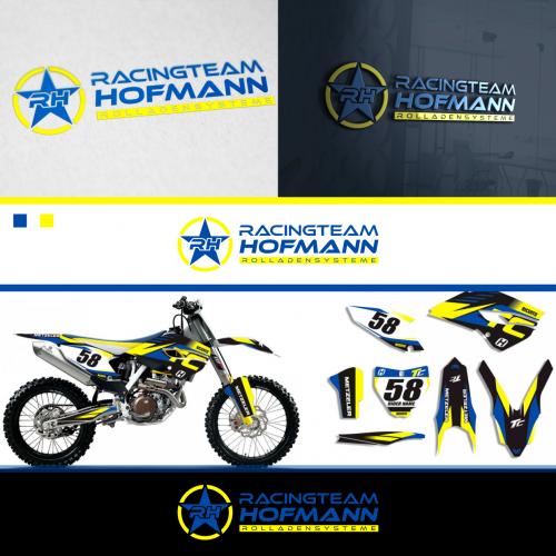 Logo-Design für Rennteam im Bereich Motocross/ Enduro
