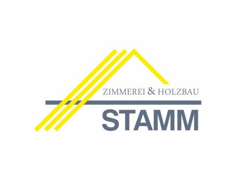 Logoerstellung Zimmerei & Holzbau Stamm