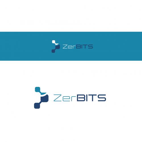 Logo-Design für ZerBITS IT-Service