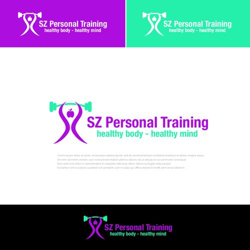 Logo-Design für Personal Trainerin und Gesundheitscoaching