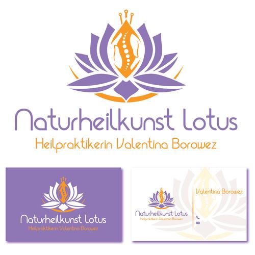 Logo & Visitenkarte für Heilpraktikerin