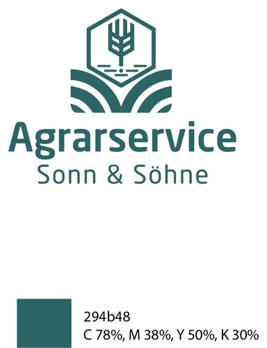 Logo-Design für Dienstleistungsunternehmen der Landwirtschaft