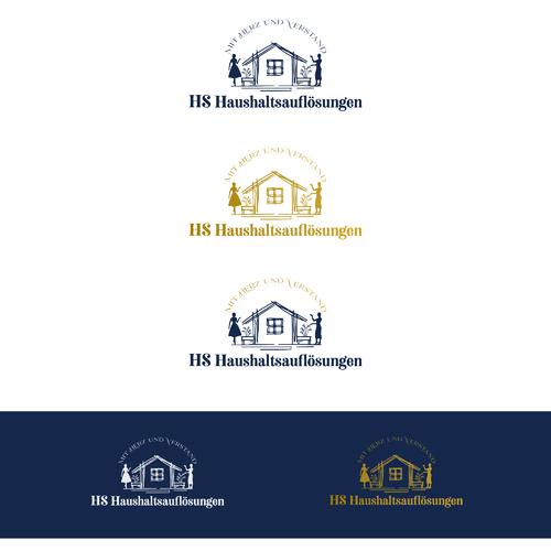 Logo-Design für Hausentrümpelungen und -auflösungen