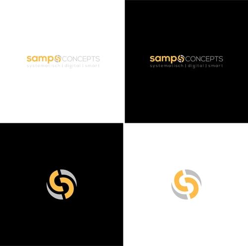 kreatives Logo-Design für eine moderne Unternehmensberatung