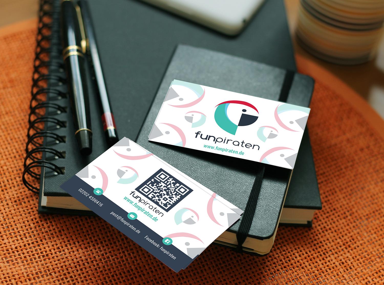 Visitenkarten Design Für Junges Internetportal Business