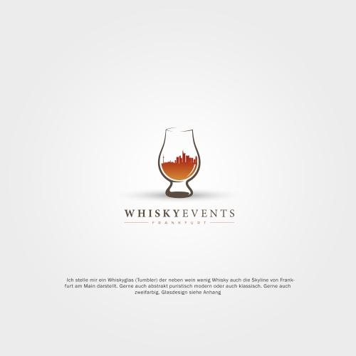Logo & Social Media für Veranstaltung von Whiskytastings zu Hause