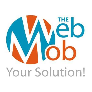 Logo-Design für The WebMob -Your Solution!