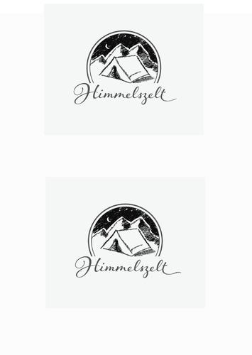 Logo-Design für Verleih von E-Bike Zeltanhängern