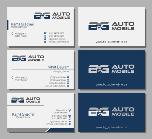 Gebrauchtwagenhandel sucht Logo & Visitenkarte