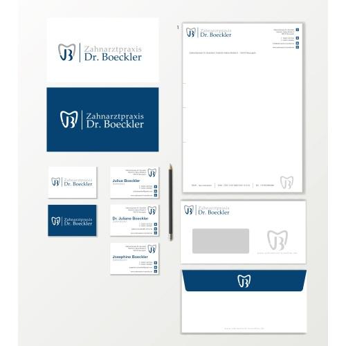 Corporate Design für Zahnarztpraxis