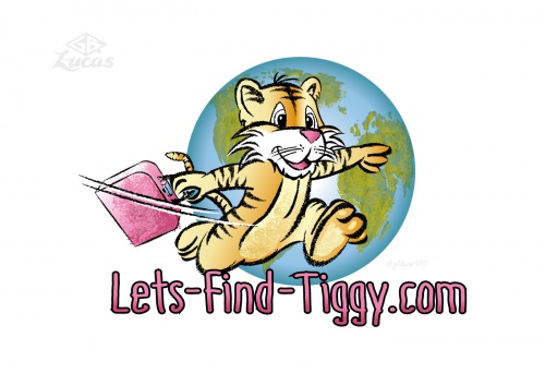 Logo für einen Blog über Reisen mit Kindern und Familienthemen