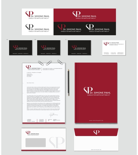 Corporate Design für Rechtsanwaltskanzlei
