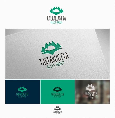 Logo-Design für Tartarugita. Alles dabei! Online-Versandhandel für Freizeitartikel