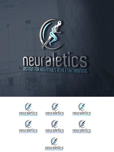 Logo-Design für kognitives Athletiktraining