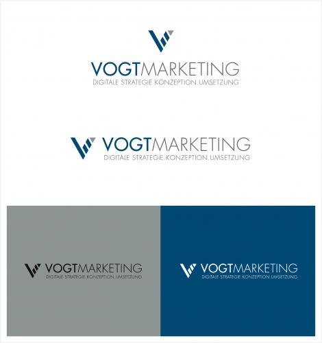 Logo-Design für DigitalMarketing start up sucht Design