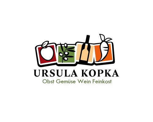 Obst- und Gemüseladen sucht Logo