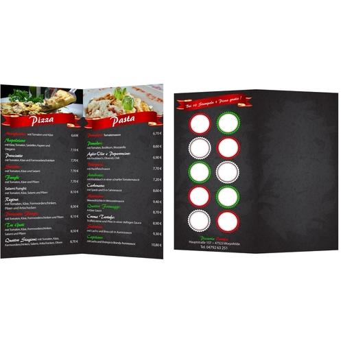 Flyer-Design für Hersteller von ökologischen Werbemitteln aus Papier/Karton
