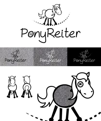 Logo fr PonyReiter Textildesigen