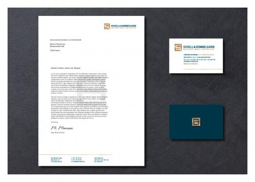 Corporate Design für Immobilienfirma sucht Design