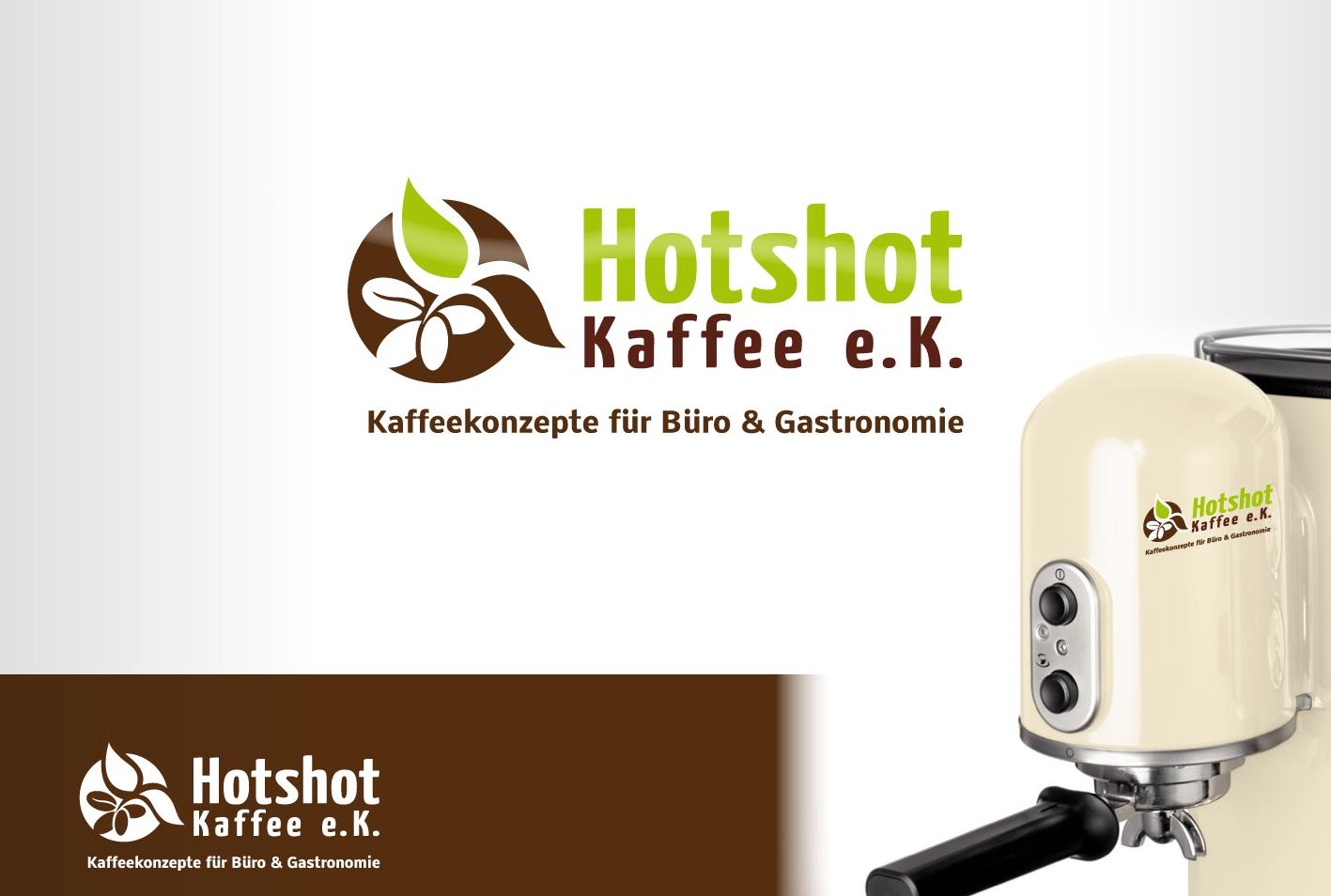 Logo für Neugründung. Vertrieb von Kaffeekonzepten  Name Hotshot-Kaffee