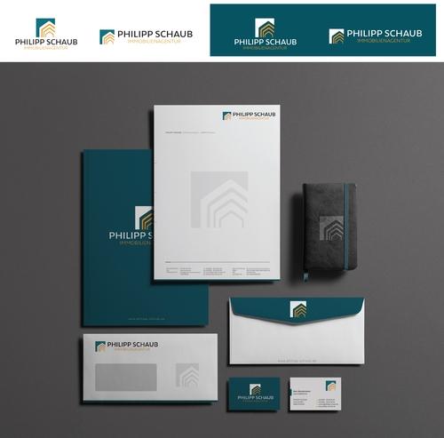 Corporate Design für Immobilienagentur