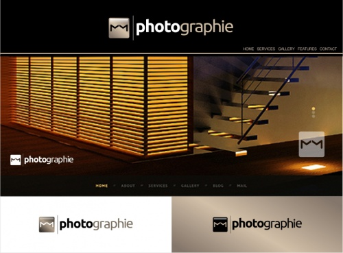 Fotograaf zoekt eenvoudige Logo